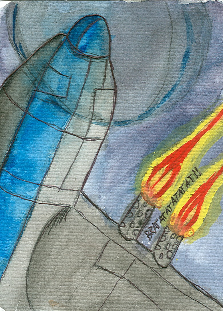 planewatercolor